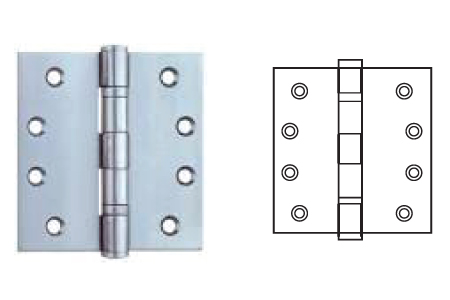 Keyline Stainless Steel Ball Bearing Hinge SS2B