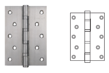 Keyline Stainless Steel Ball Bearing Hinge SS2BB