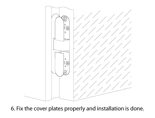 Vanished Hinges Installation Guide 06