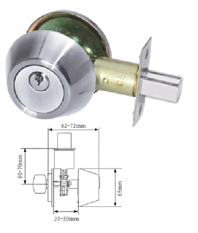 keyline tubular deadbolt 7100 series