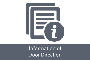 information of door direction