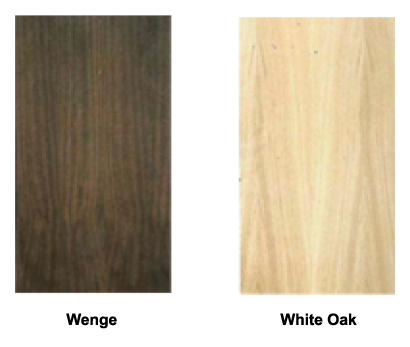wenge white oak